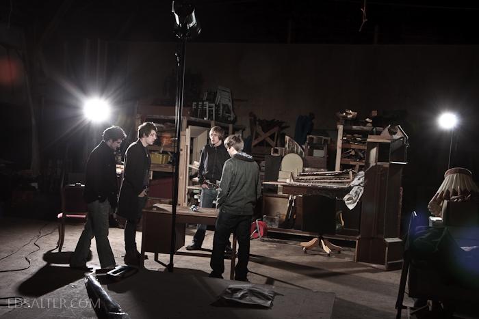 Invisible Vegas - Setup lighting shot
